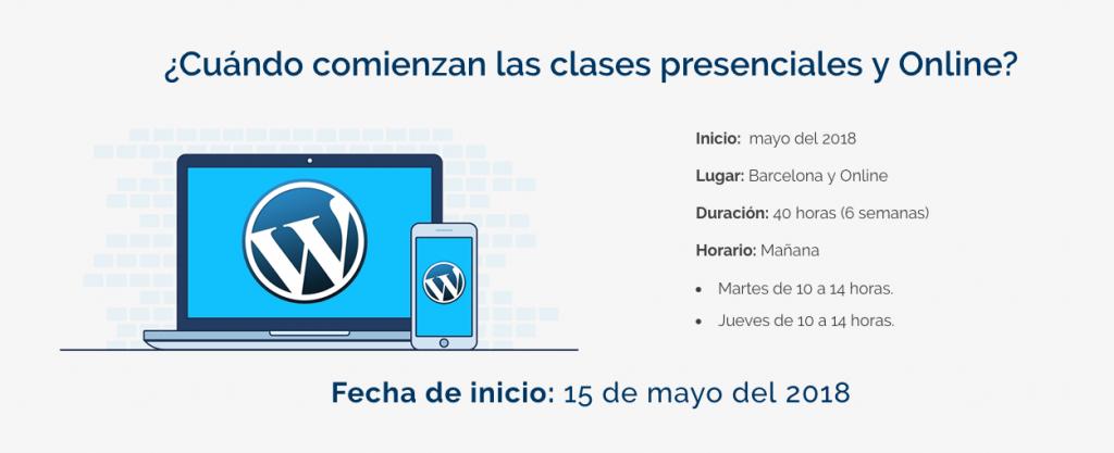 Webescuela Curso de WordPress en Barcelona y Online