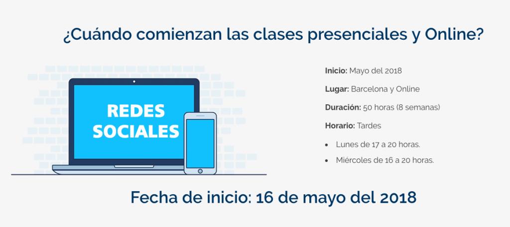 Webescuela Curso de Blogging en Barcelona y Online