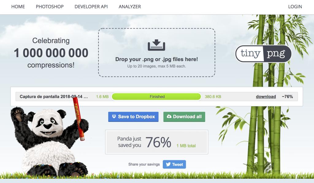 Optimización de imágenes para WordPress