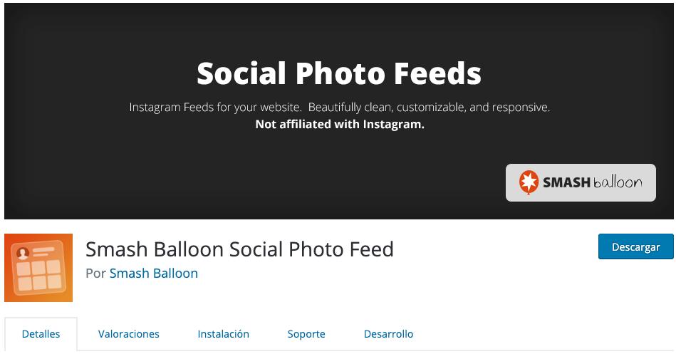 Smash Ballon Instagram Feed